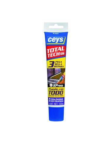 Ceys Total Tech Tubo 125 Ml.Transparente