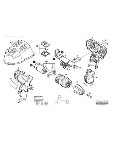 Bosch Repu.Gsr10.8V-Li Motor...