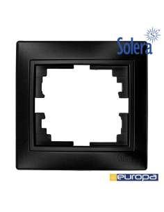 Marco para 1 elemento grafito 83x81x10mm s.europa solera